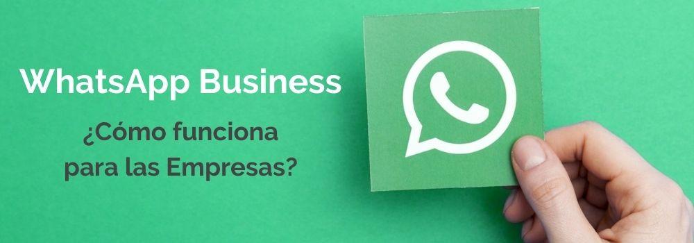 WhatsApp Business como funciona