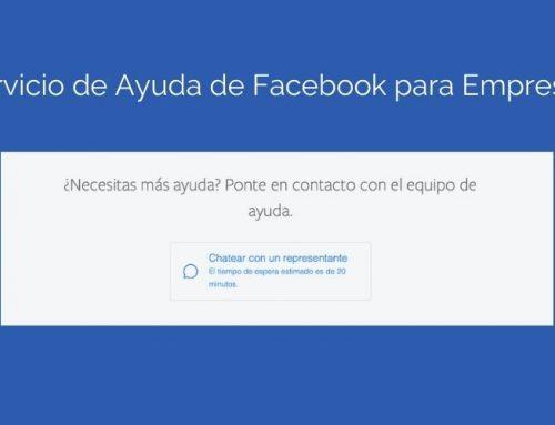 Servicio de ayuda de Facebook para empresas [Guía]