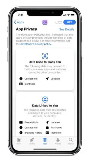 privacy iOS 14